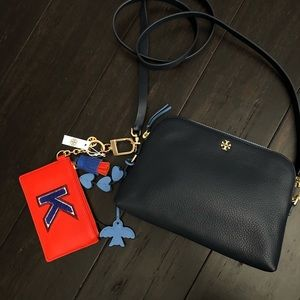 Tory Burch Bundle Crossbody Bag with Card Holder